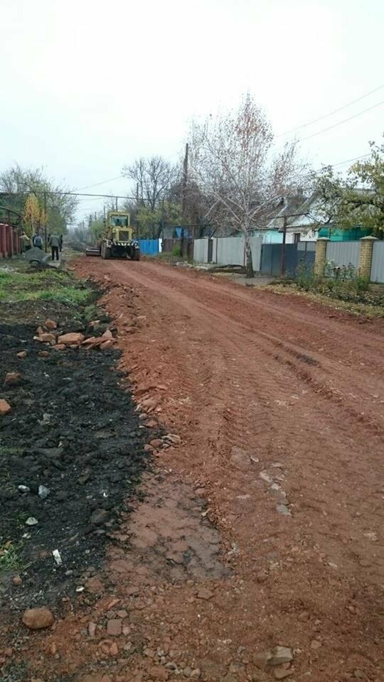 В Мирнограде начаты работы по отсыпке улицы Чичерина, фото-6