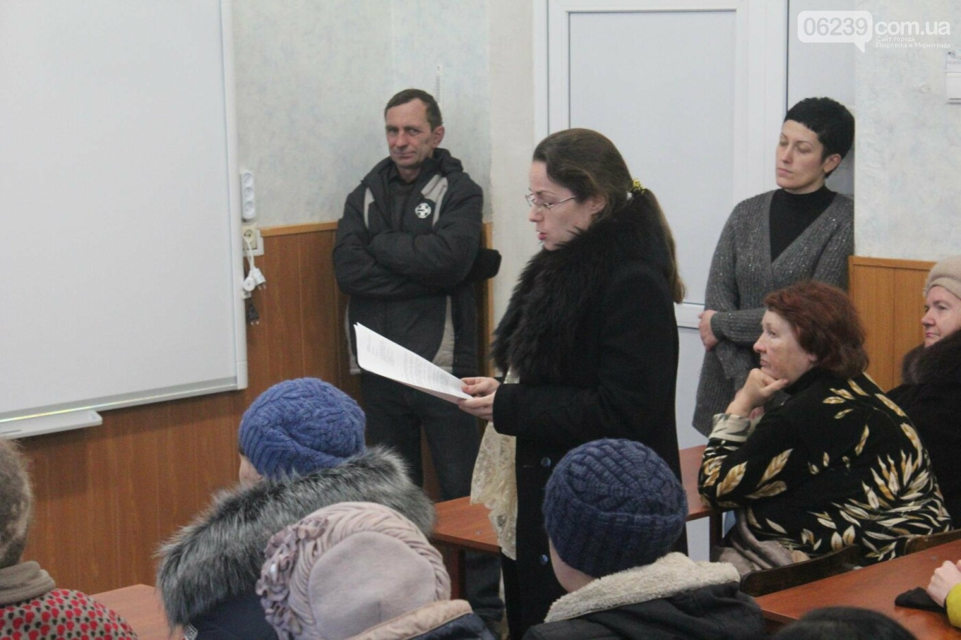 Депутат Мирноградского городского совета Вячеслав Ключка отчитался перед избирателями, а также провёл личный приём граждан , фото-3