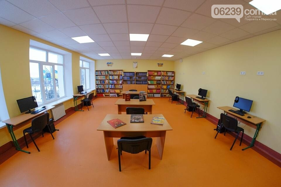 У селищі Гришине завершився капітальний ремонт та термомодернізація будівлі НВК, фото-1
