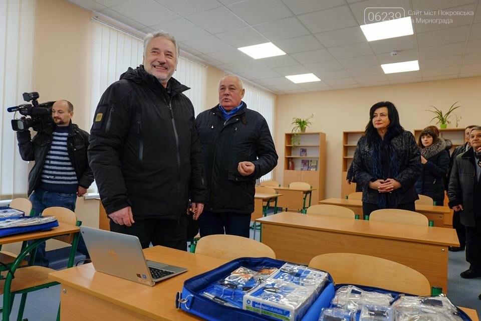 У селищі Гришине завершився капітальний ремонт та термомодернізація будівлі НВК, фото-4