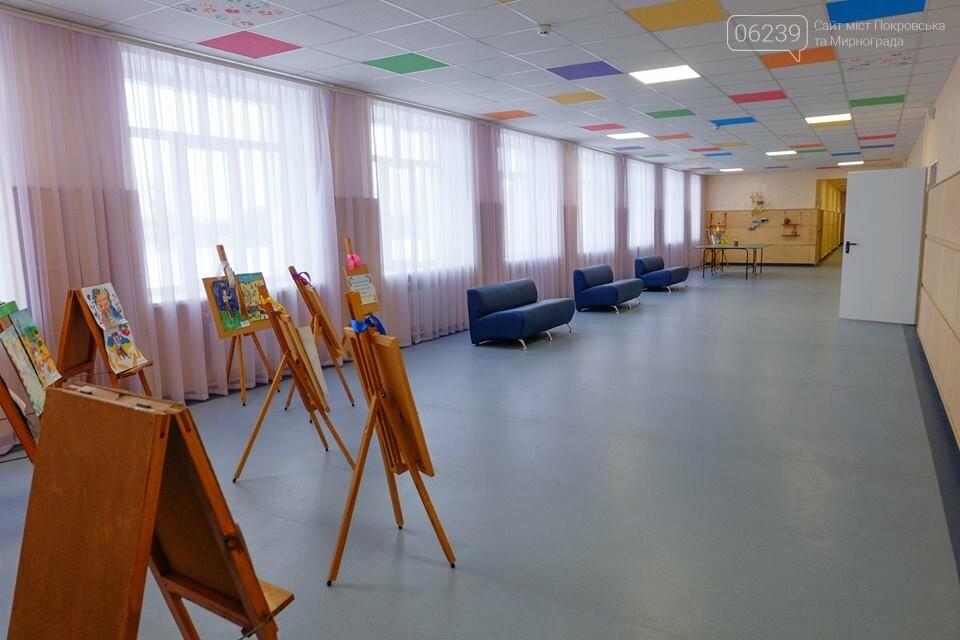 У селищі Гришине завершився капітальний ремонт та термомодернізація будівлі НВК, фото-9