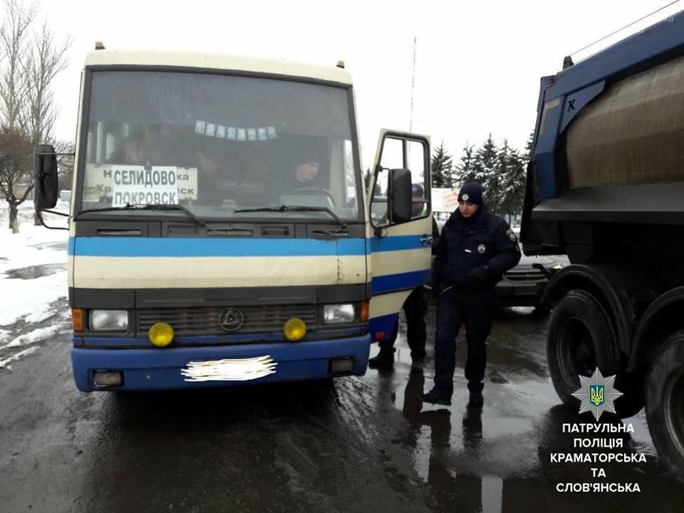 В Покровске перевозчика наказали за лишних пассажиров, фото-1