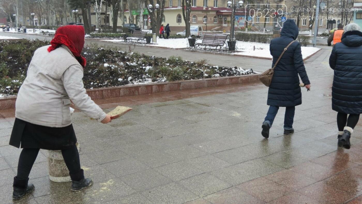На Покровск обрушился ледяной дождь , фото-5
