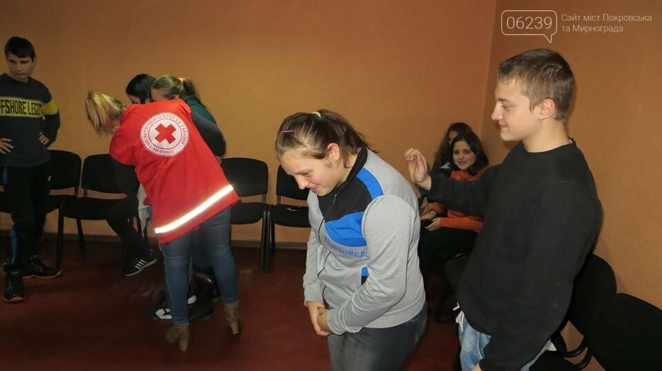 У Родинському професійному ліцеї відбувся тренінг з надання першої домедичної допомоги, фото-2