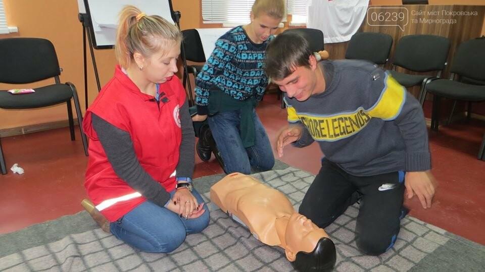 У Родинському професійному ліцеї відбувся тренінг з надання першої домедичної допомоги, фото-5