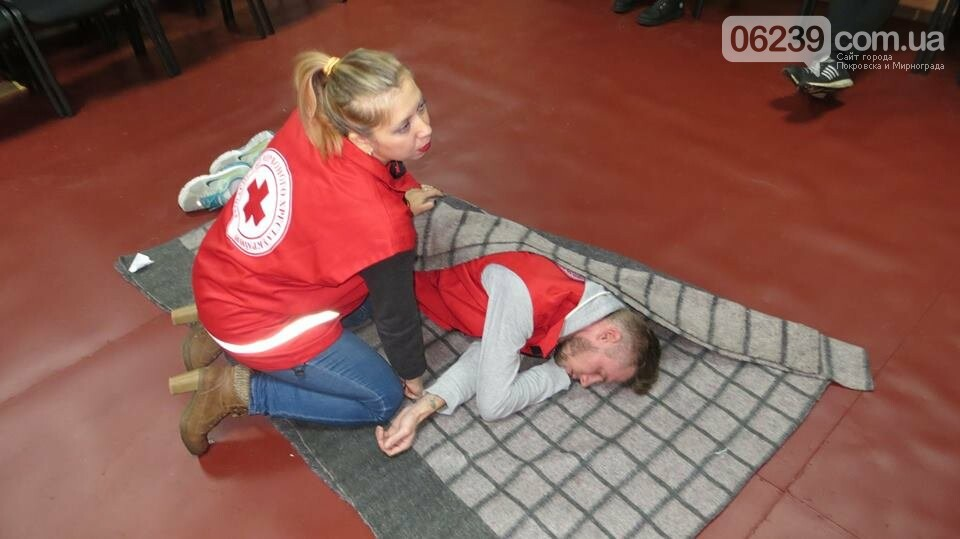У Родинському професійному ліцеї відбувся тренінг з надання першої домедичної допомоги, фото-3