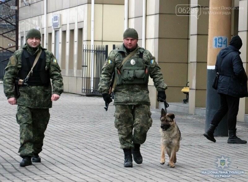 Почему в Покровске полицейские со служебными собаками проверяют поезда и автобусы , фото-6