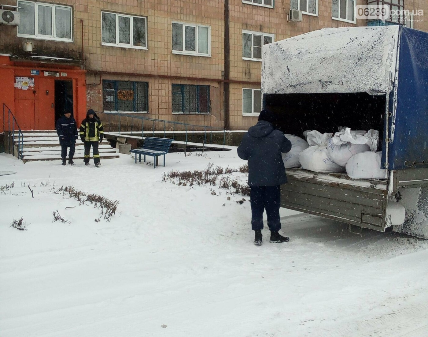 У Покровську рятувальники розвантажили гуманітарну допомогу, фото-1