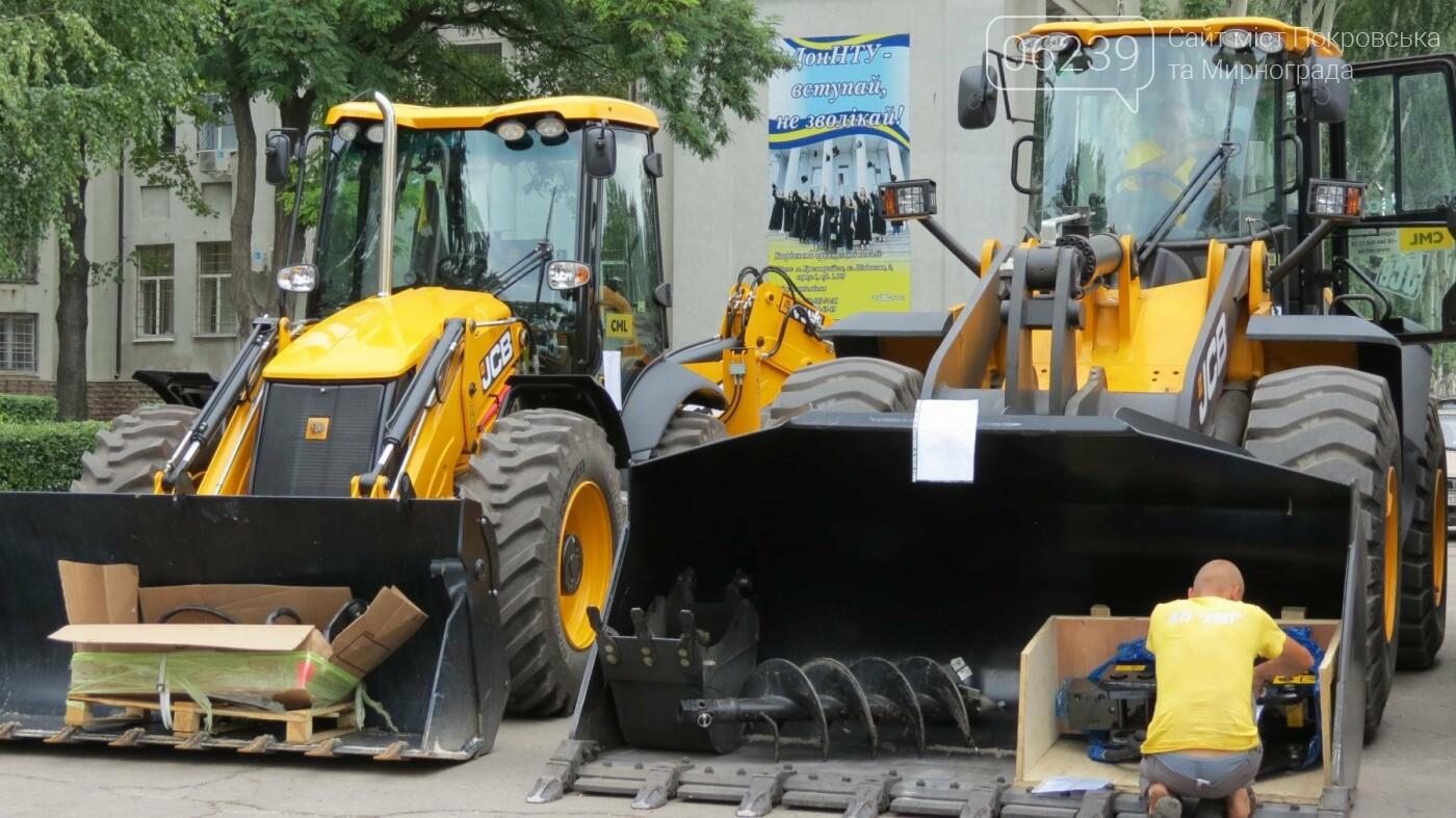 В Покровске презентовали новую коммунальную технику, фото-5
