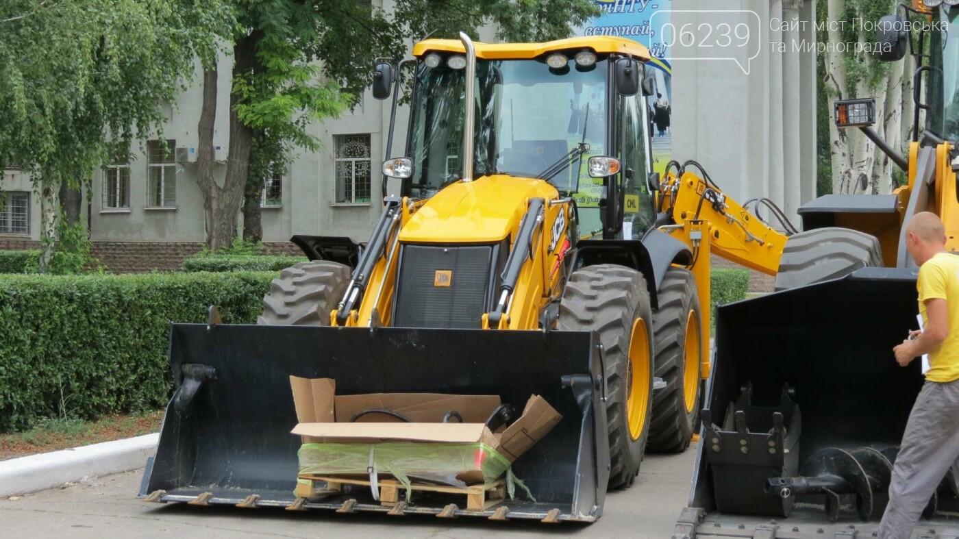 В Покровске презентовали новую коммунальную технику, фото-6
