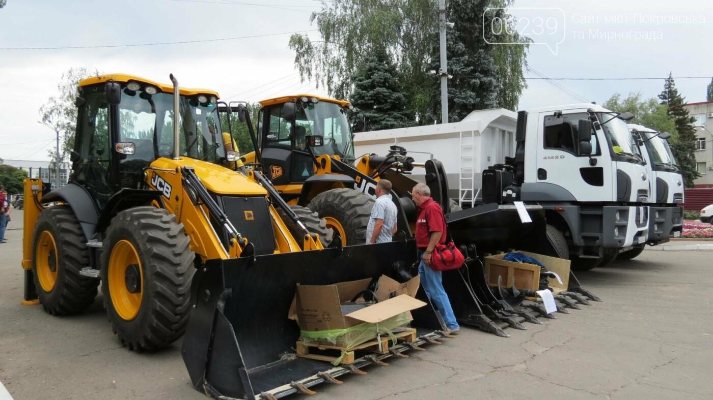В Покровске презентовали новую коммунальную технику, фото-2