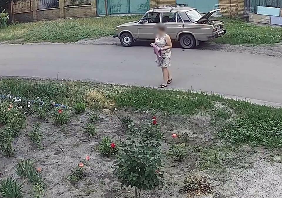 У Покровську затримали жінку, яка під час викрадання квітів «засвітилася» на камерах відеоспостереження, фото-4