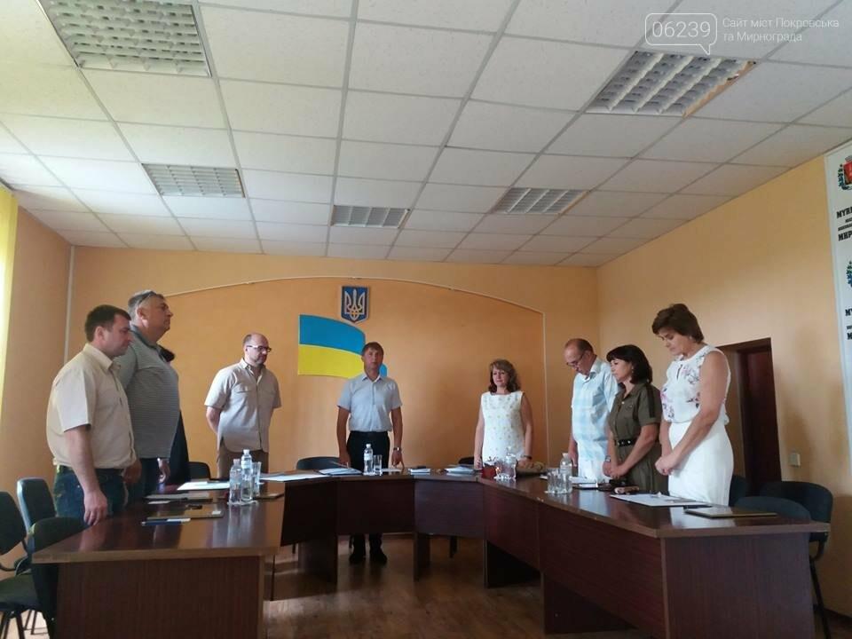 В Мирнограде состоялось заседание исполнительного комитета , фото-1