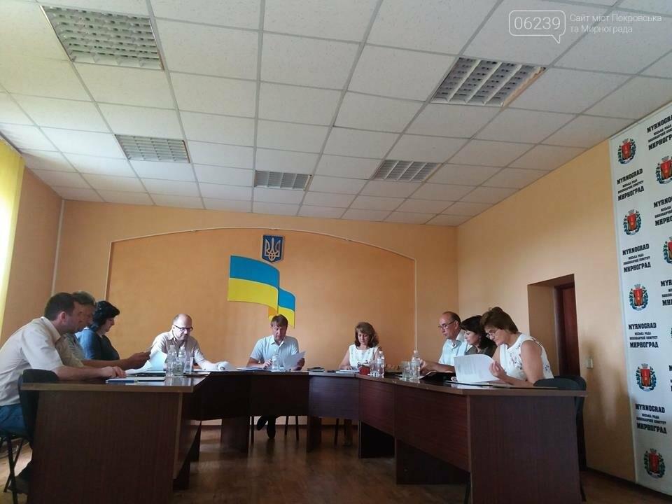 В Мирнограде состоялось заседание исполнительного комитета , фото-4