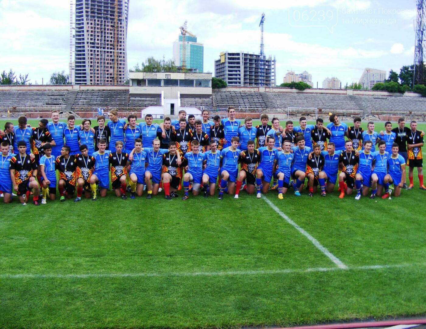 Регбисты из Покровска вошли в юниорскую сборную Украины по регби, фото-2