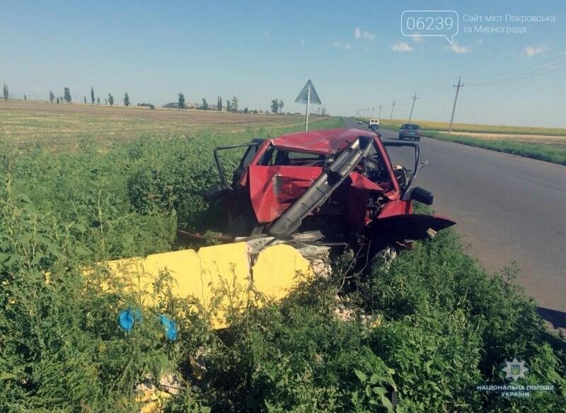 Покровская оперзона: на въезде в пгт. Цукурино произошло ДТП погиб водитель, фото-3