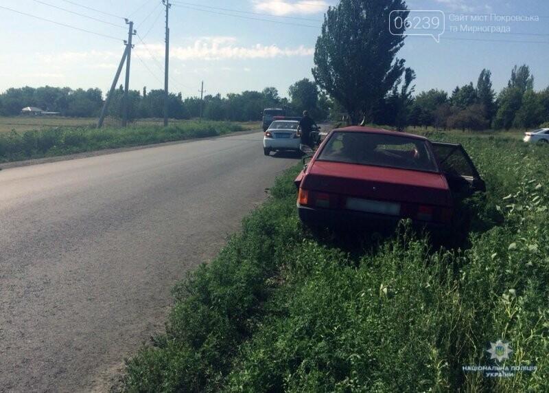 Покровская оперзона: на въезде в пгт. Цукурино произошло ДТП погиб водитель, фото-1