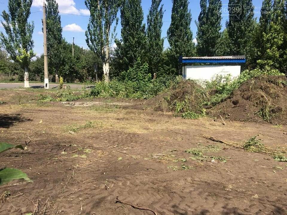 В Мирнограде проходят работы по расчистке балки и сети ливневой наружной канализации , фото-2