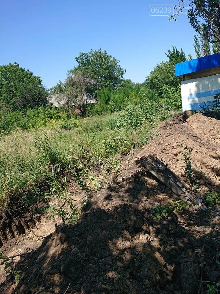 В Мирнограде проходят работы по расчистке балки и сети ливневой наружной канализации , фото-6