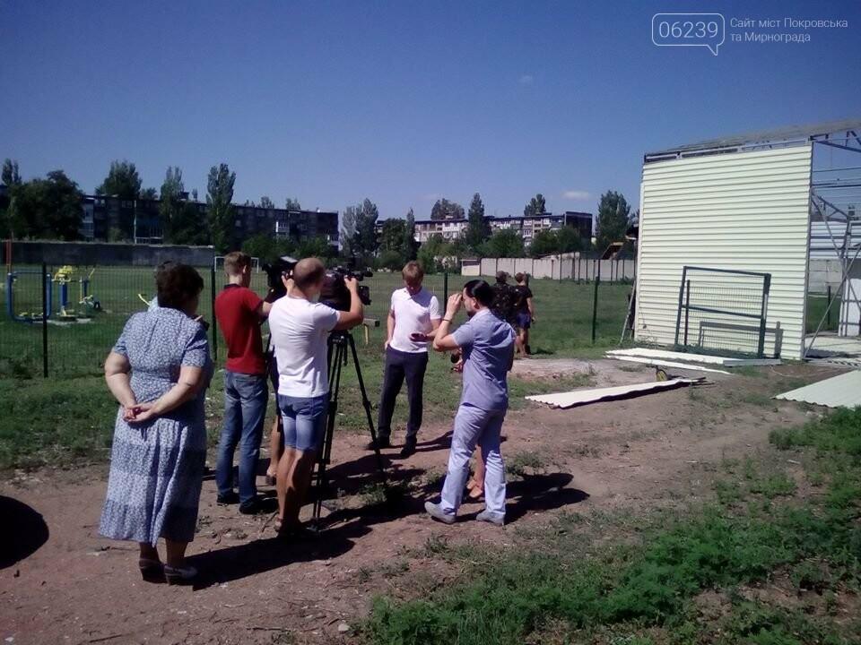 В Мирнограде на модульной котельной ОШ №5 им. Валерия Доценко завершаются работы по расширению склада для топлива, фото-6