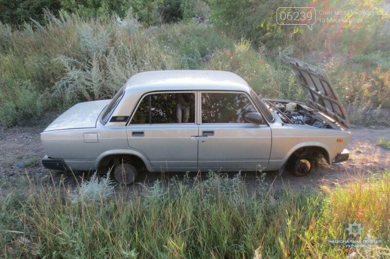 В Мирнограде разыскали угнанный автомобиль: полиция ищет свидетелей, фото-2