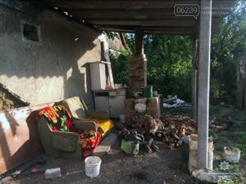 Вчера в Покровском районе жестокий рецидивист убил ножом женщину , фото-1