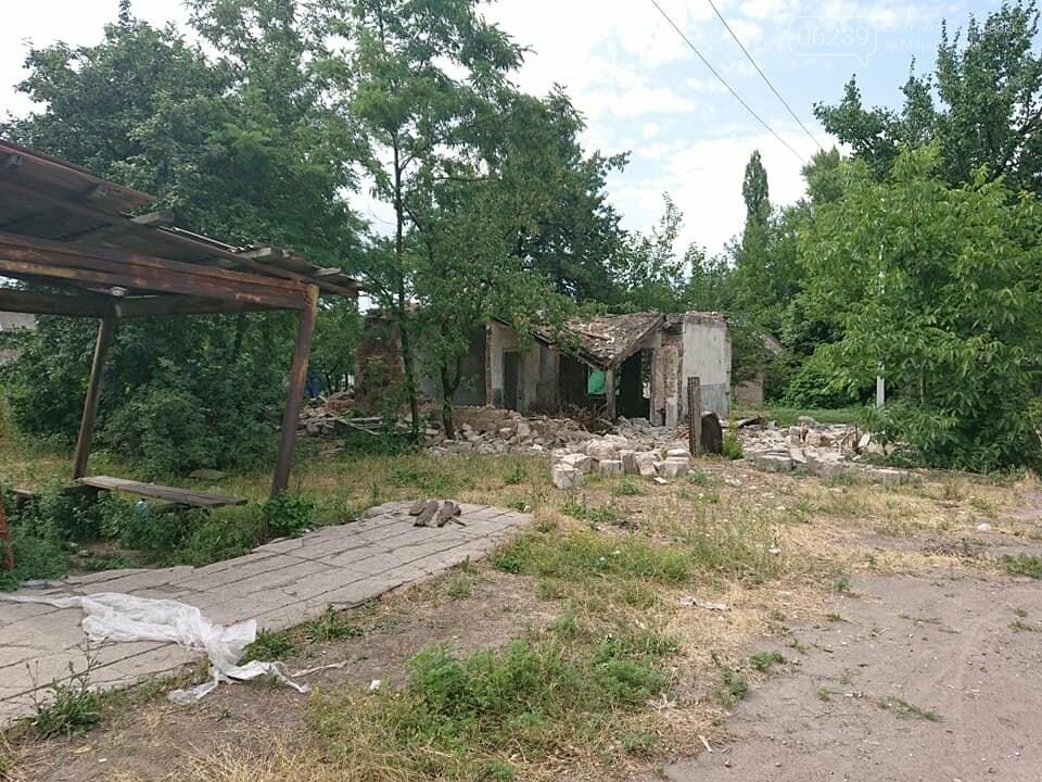 В Мирнограде сносят бесхозные постройки, фото-3