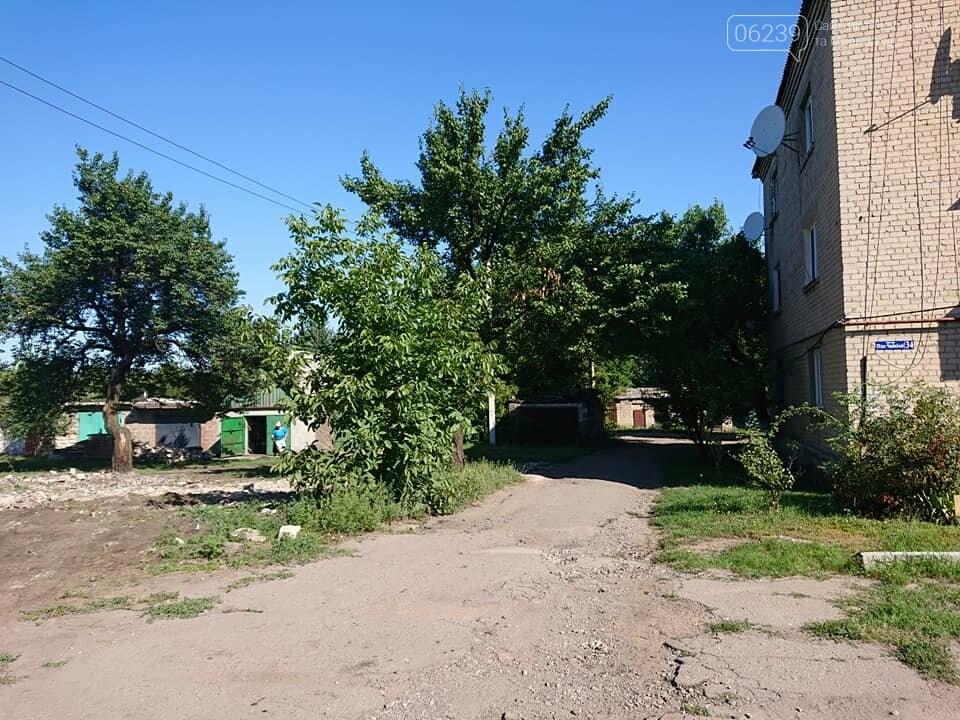 В Мирнограде сносят бесхозные постройки, фото-1