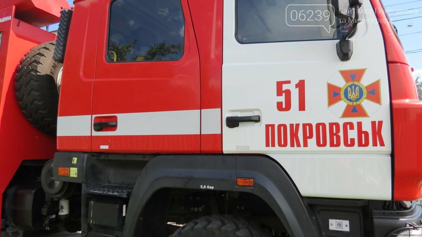 В Покровске горит жилой дом, фото-6