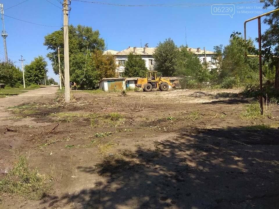 В одном из районов Мирнограда восстановят 600 квадратных метров асфальта, фото-3
