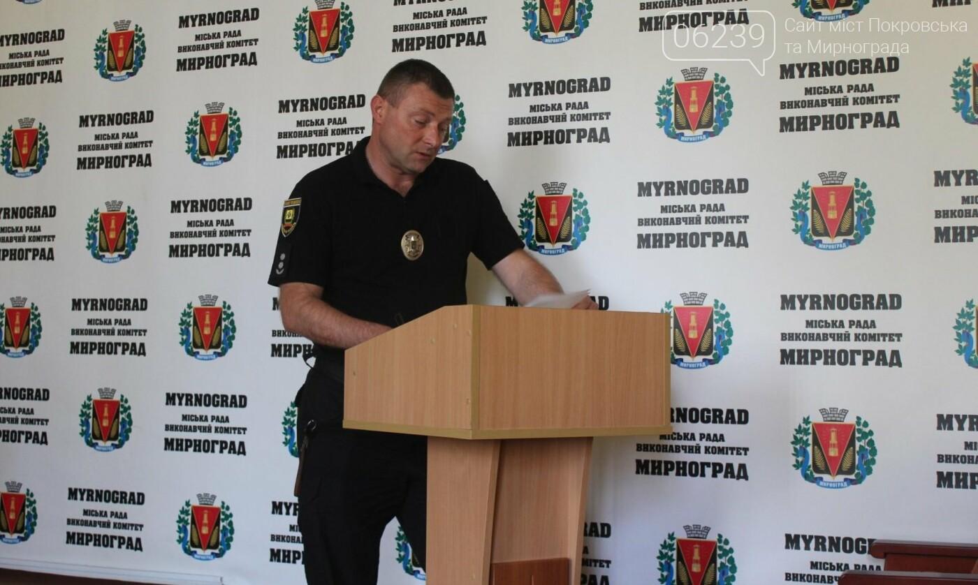 Кражи и мошенничество: оперативная обстановка в Мирнограде за прошедшую неделю , фото-1