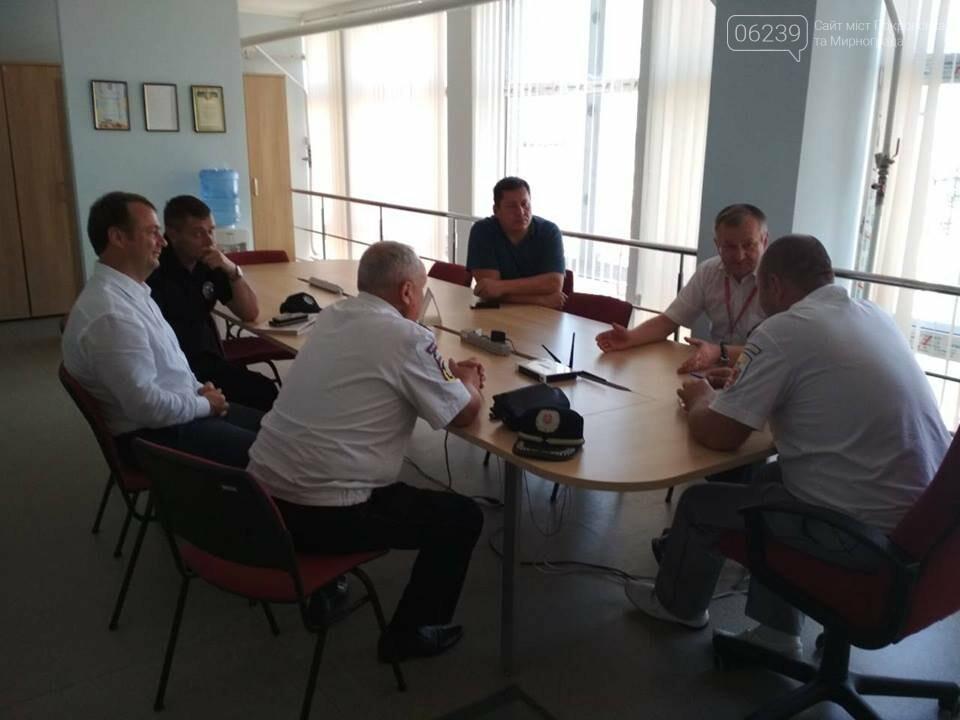Вчера мэр и главный полицейский Покровска посетили Винницу - ездили перенимать опыт, фото-2