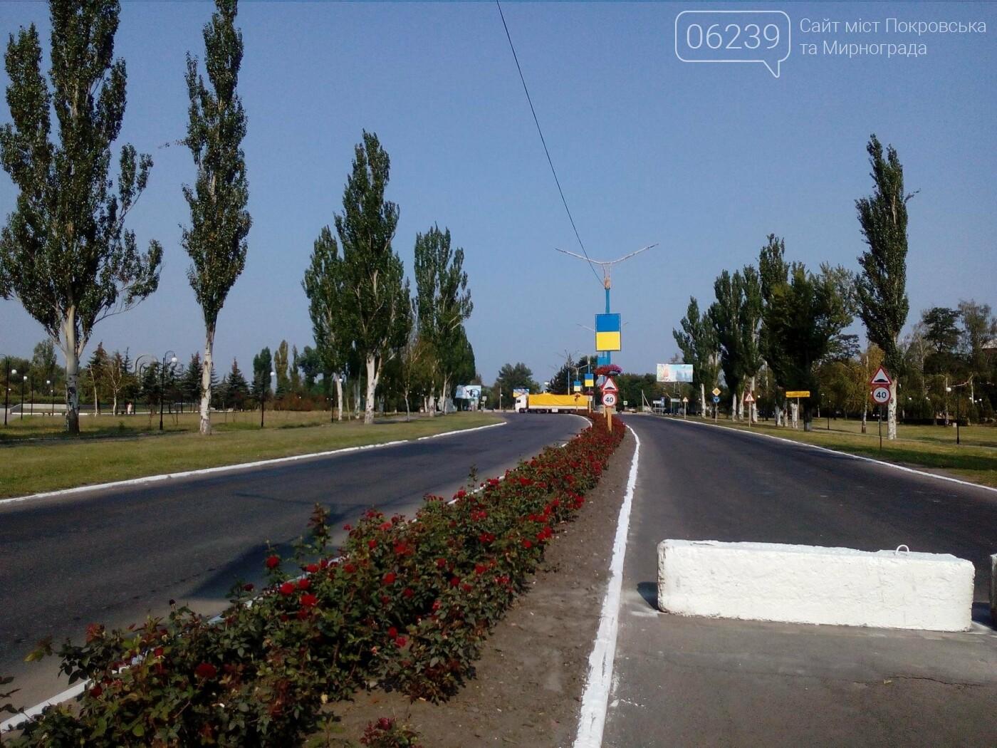 В Покровске перекрыли движение в районе кольца - по части улицы Защитников Украины, фото-2