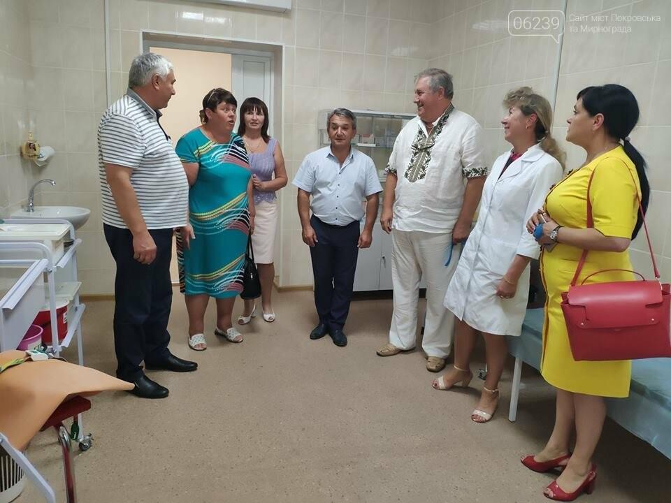 У Покровському районі сьогодні урочисто відкрито відремонтовану лікарську амбулаторію, фото-7