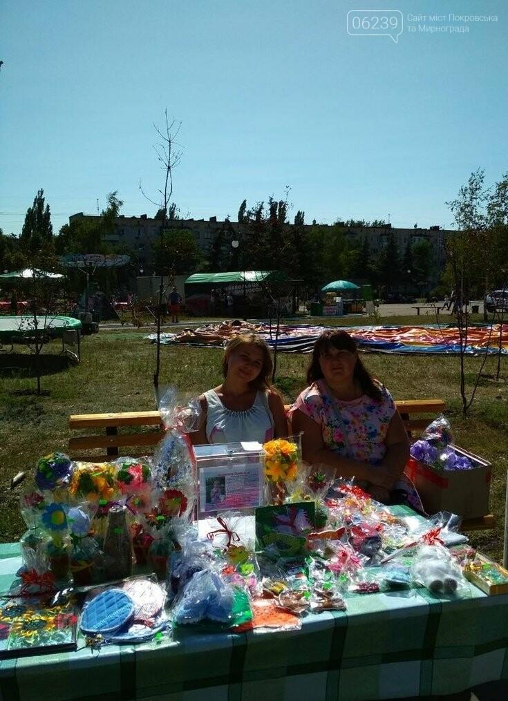 В Покровске в ходе благотворительной акции была собрана необходимая сумма на обследование Сонечки, фото-1