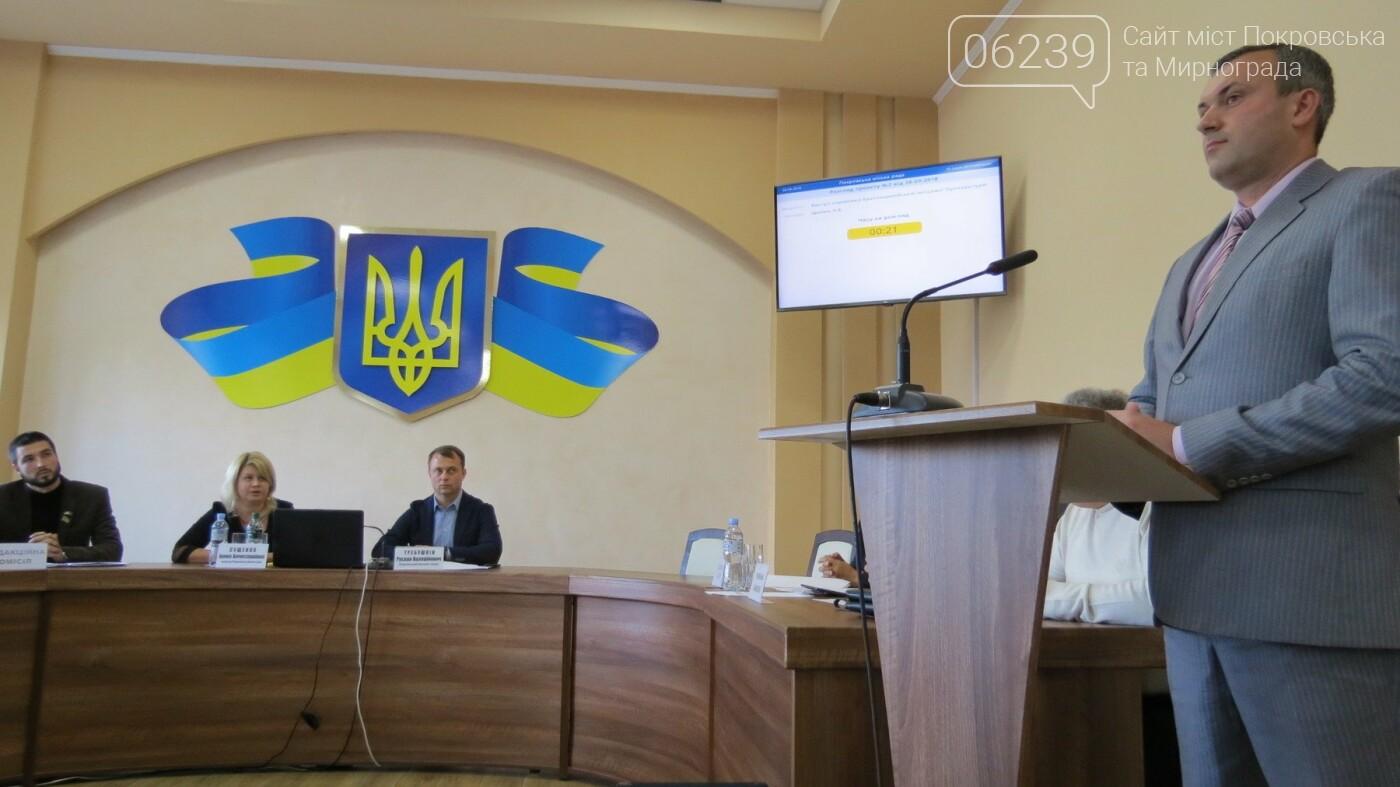 Прокурор відзвітував на сесії Покровської міської ради, фото-1