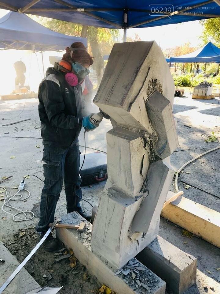 Восемь скульпторов из Украины, Беларуси и Греции создают скульптуры для Покровска, фото-7