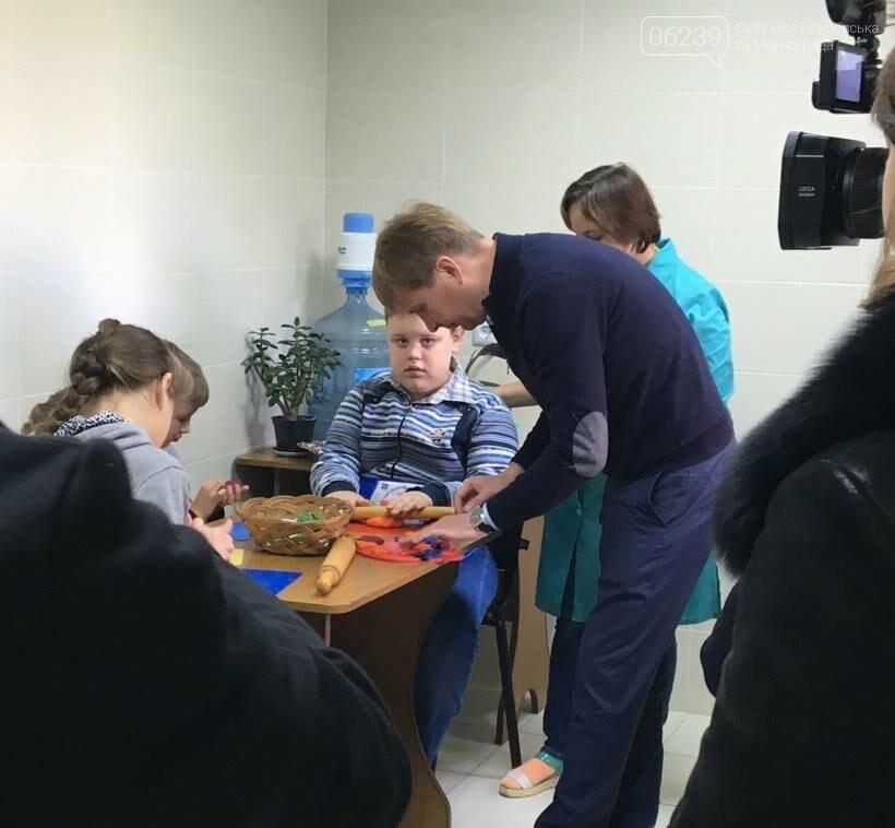 В Мирнограде Центр комплексной реабилитации лиц с инвалидностью начал работу в новом помещении, фото-1