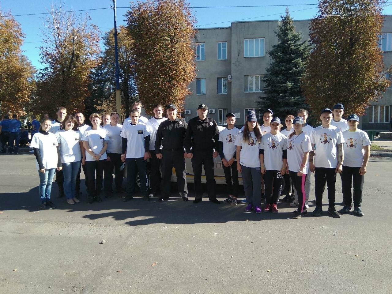 Мирноградські поліцейські взяли участь у міських спортивних заходах, фото-7