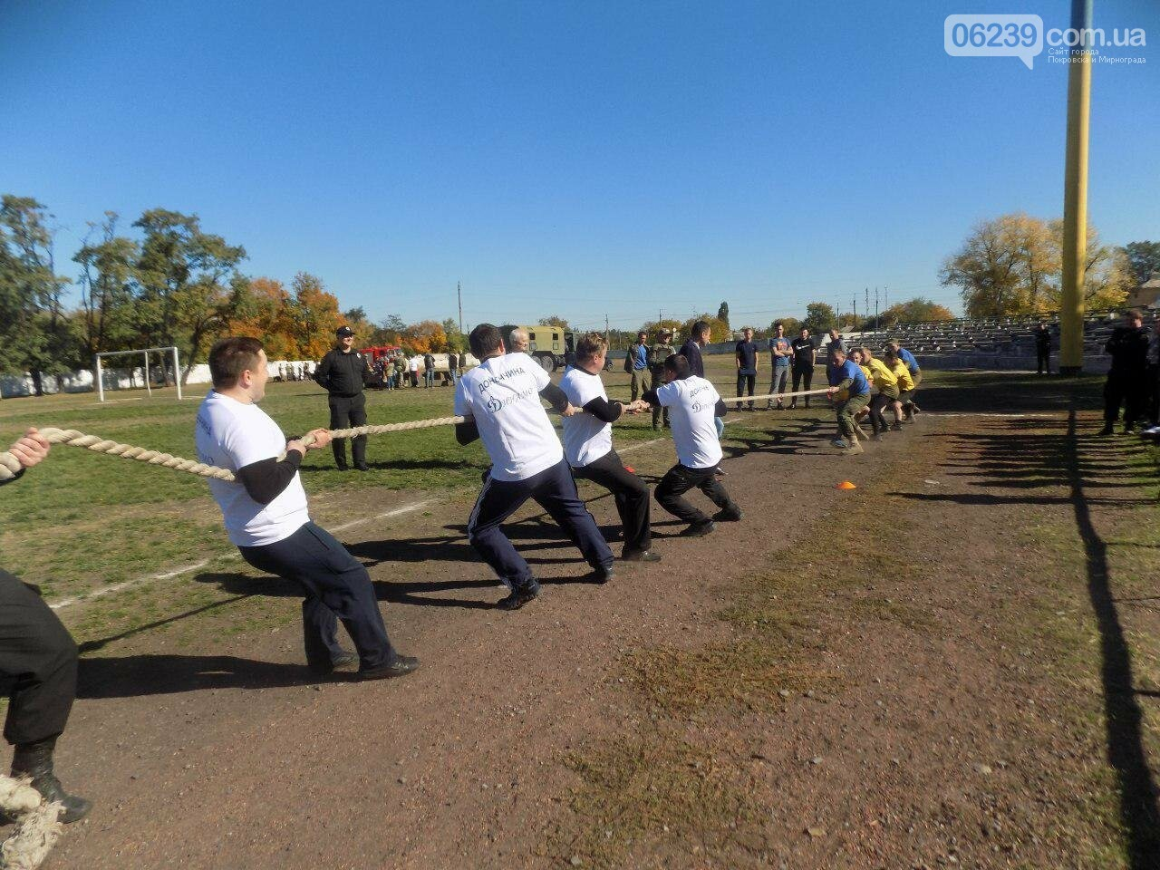 Мирноградські поліцейські взяли участь у міських спортивних заходах, фото-8
