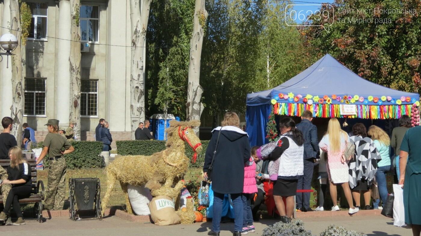 В Покровске отмечают День защитника Украины, фото-13