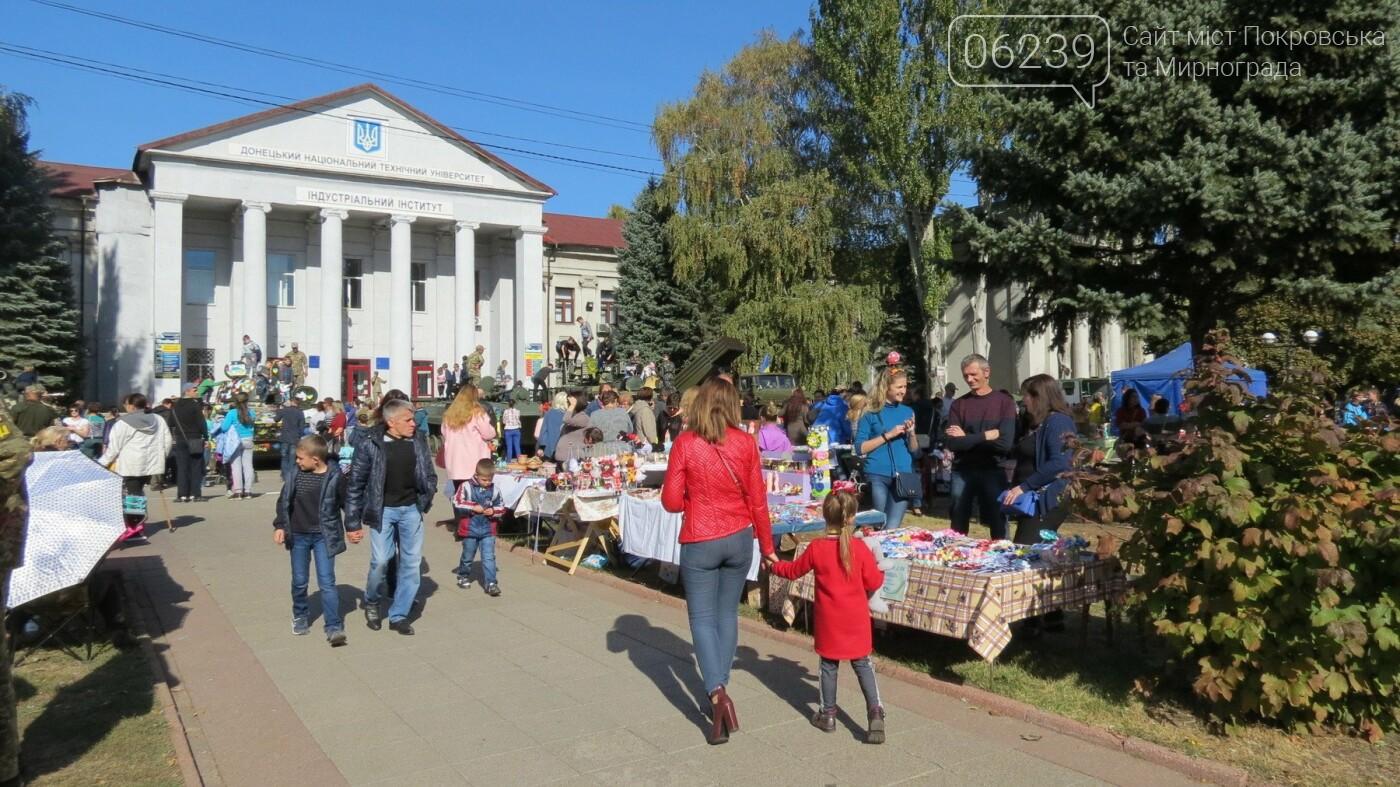 В Покровске отмечают День защитника Украины, фото-4