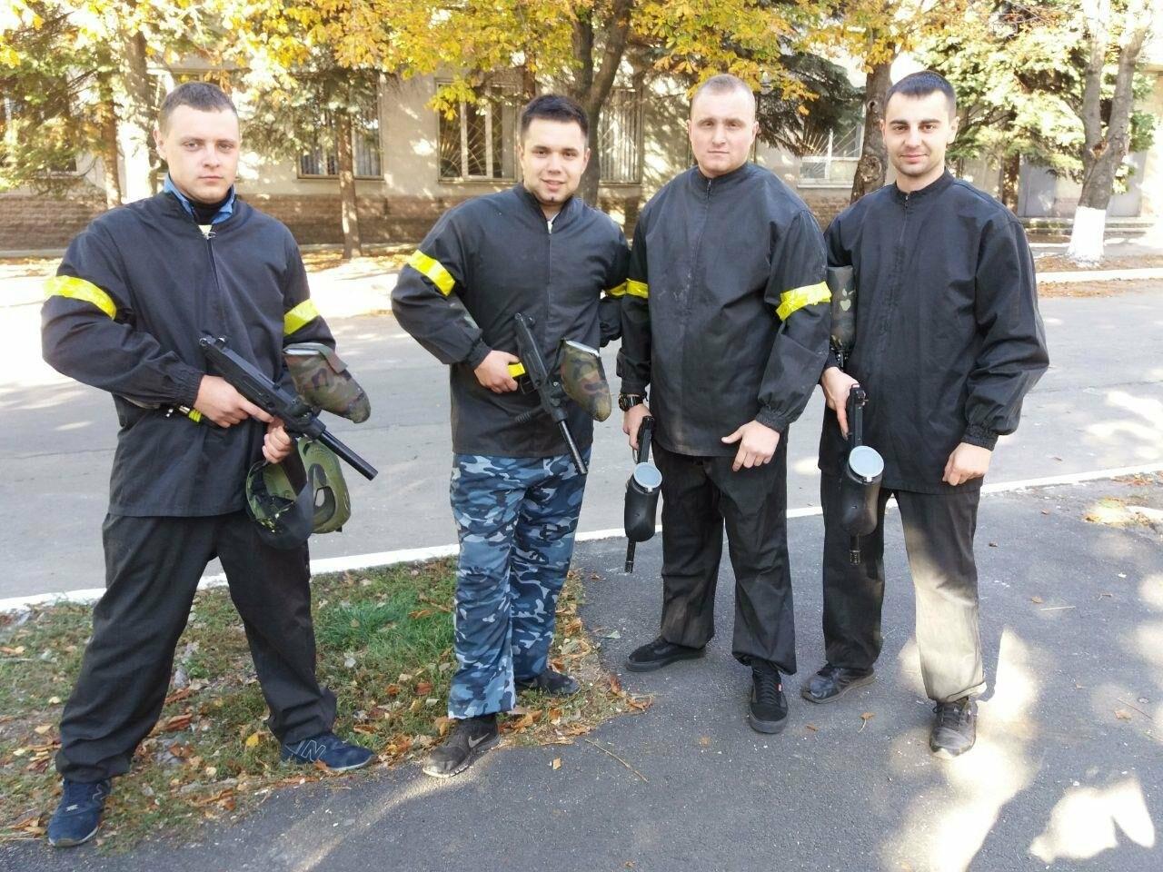 Покровські поліцейські взяли участь у міських змаганнях «Богатирське багатоборство», фото-2
