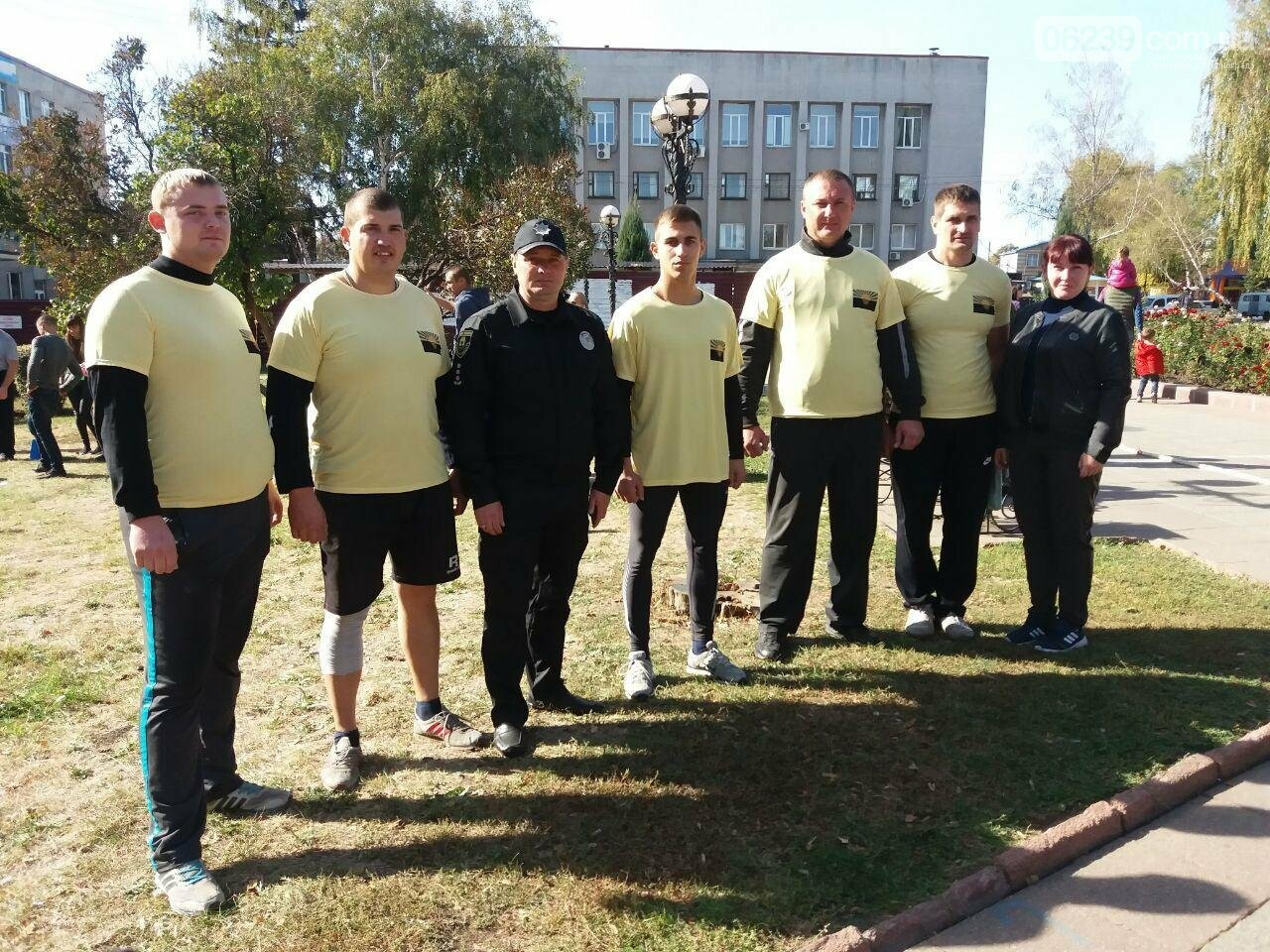 Покровські поліцейські взяли участь у міських змаганнях «Богатирське багатоборство», фото-5