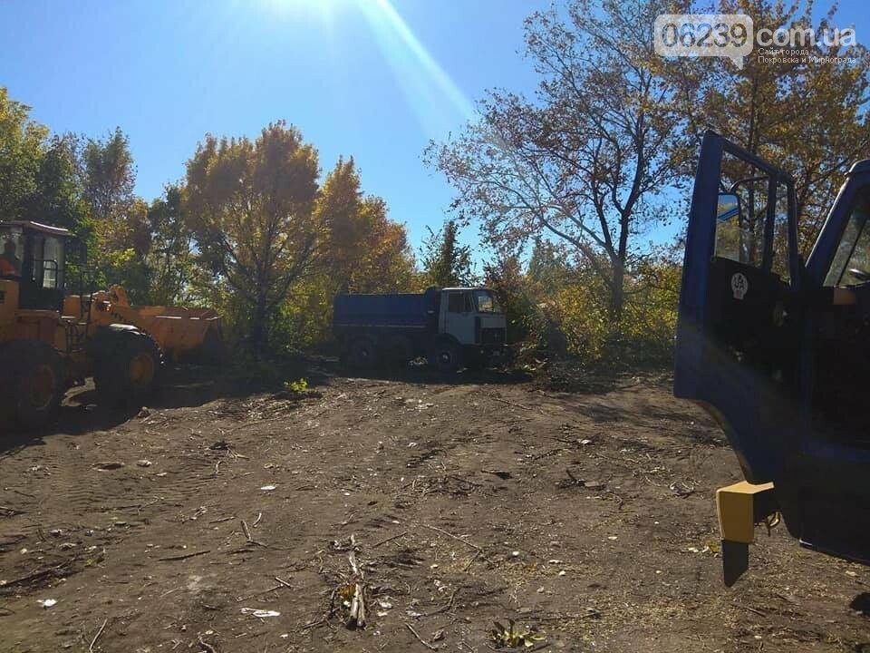В Мирнограде продолжаются работы по расчистке улиц частного сектора от зарослей и бытового мусора, фото-4