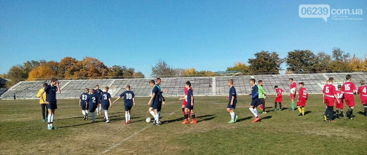 Очередной тур Чемпионата области по футболу: 2 уверенные победы футболистов ДЮСШ Мирнограда в двух матчах , фото-1
