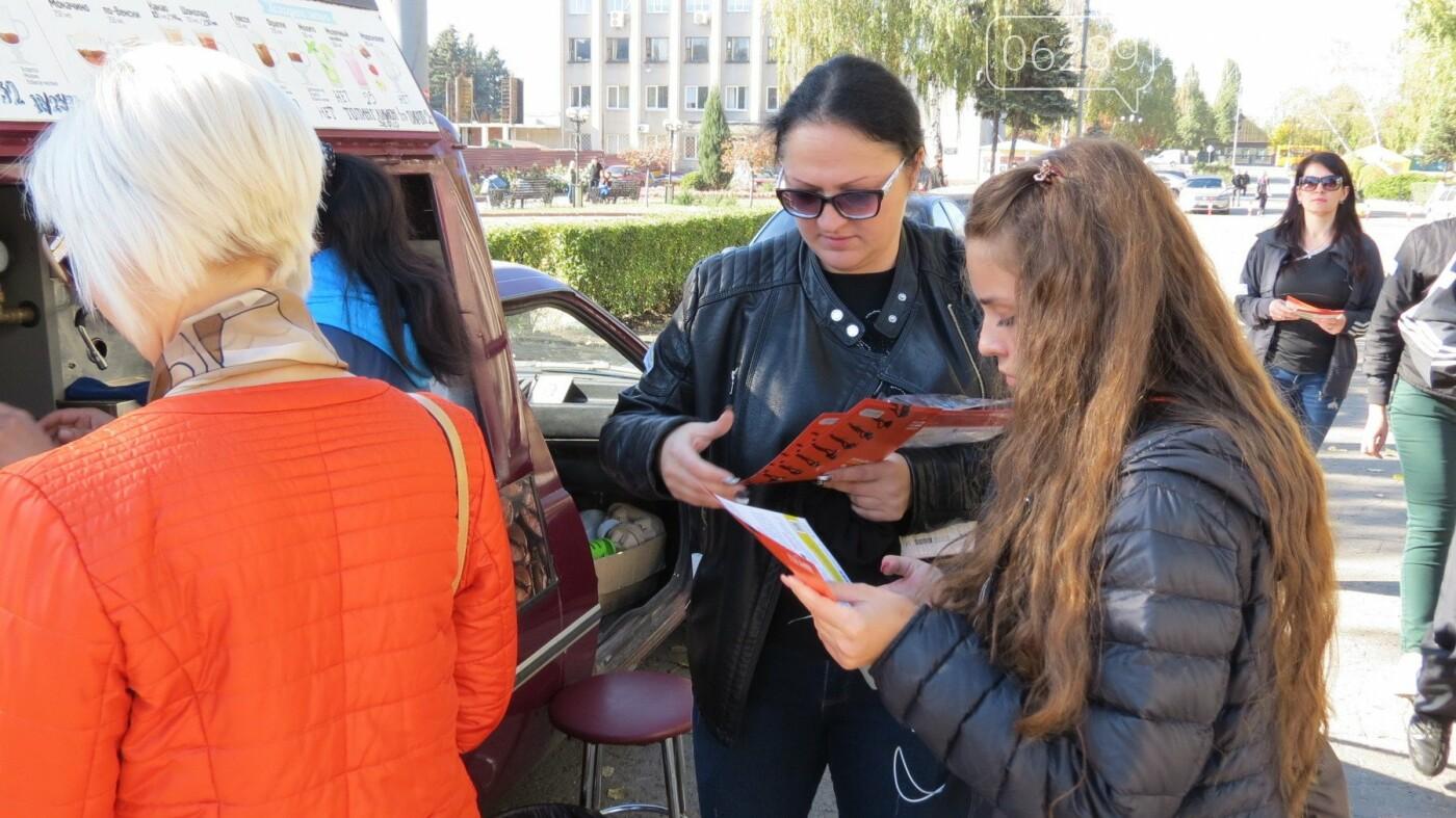 В Покровске состоялось молчаливое «Шествие за свободу», фото-5