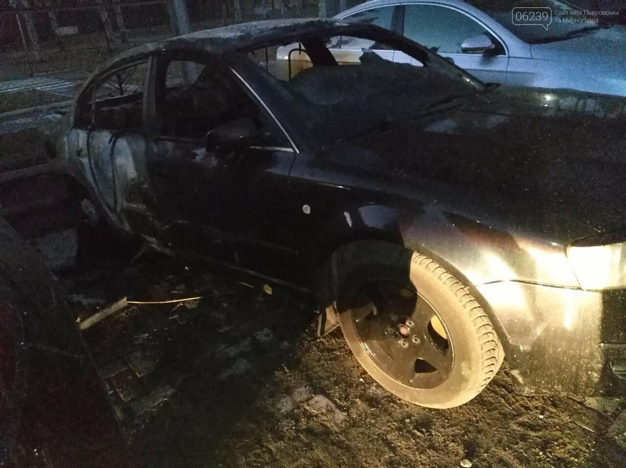Поджог или  случайность: в Покровске этой ночью горели 4 автомобиля, фото-2