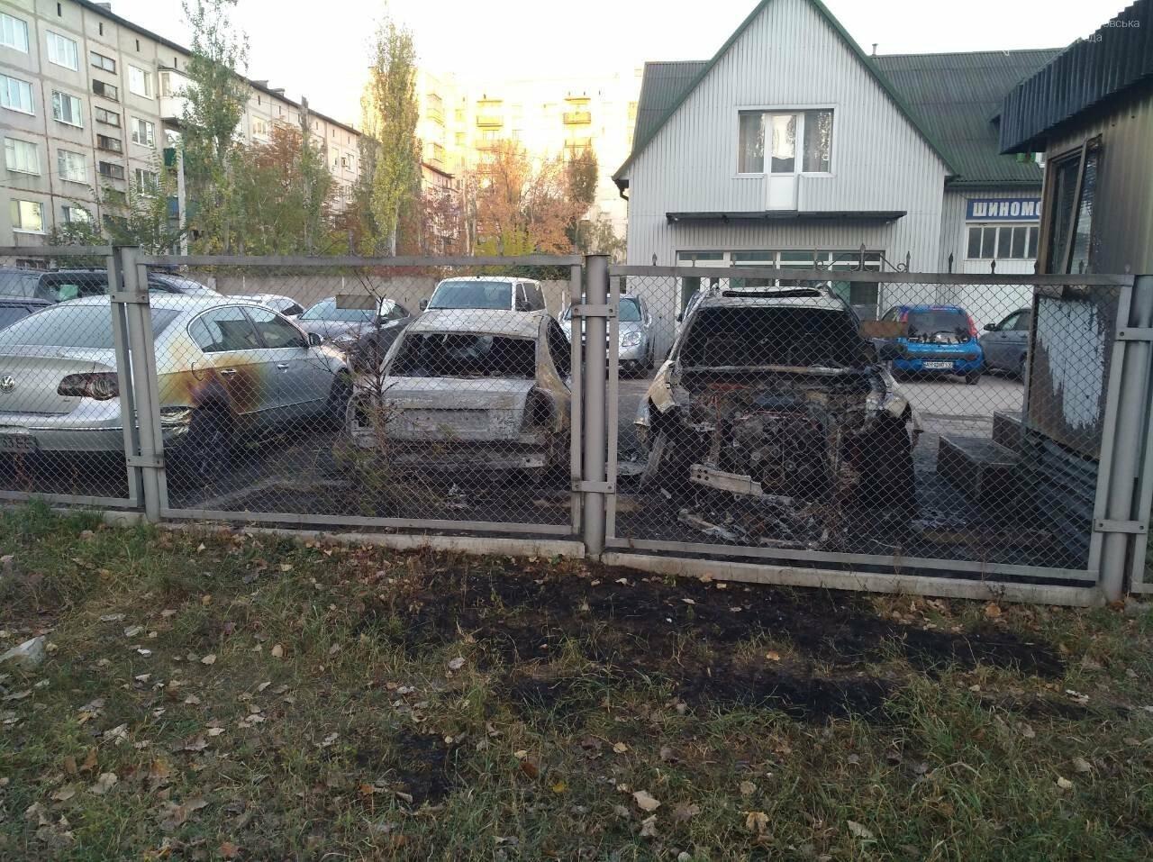 Поджог или  случайность: в Покровске этой ночью горели 4 автомобиля, фото-5
