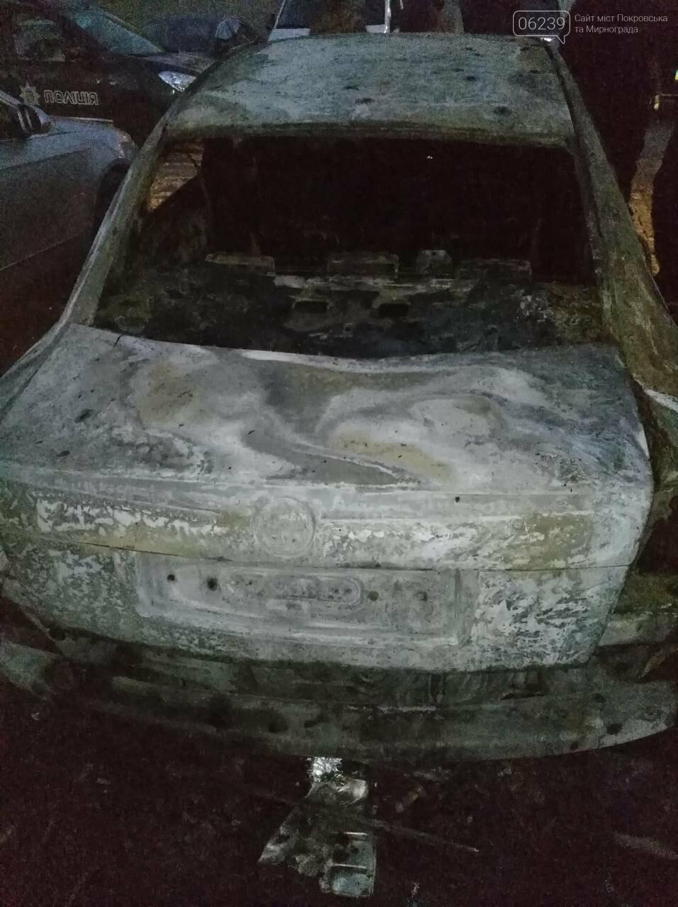 Поджог или  случайность: в Покровске этой ночью горели 4 автомобиля, фото-1